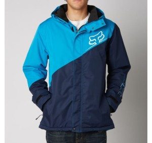 n1shop_bunda Fox Racing Booster Jacket Electric Blue