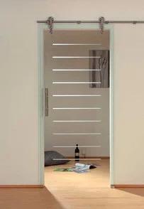 skleněné posuvné dveře